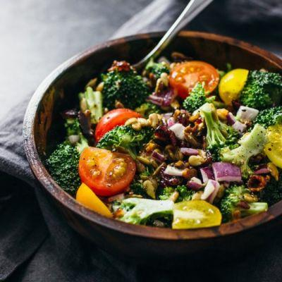 Best cold broccoli salad