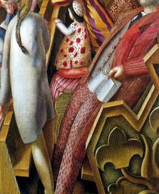 Stanley Spencer 1891-1959 imagines a church service