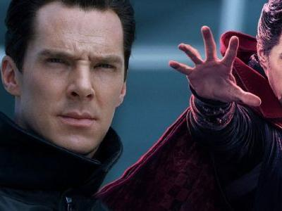 Beardless Benedict Cumberbatch Spotted Near Doctor Strange 2 Set