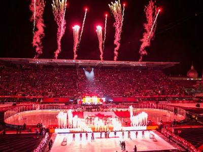 NHL 100 Classic in Photos: Canadiens, Senators battle in the cold