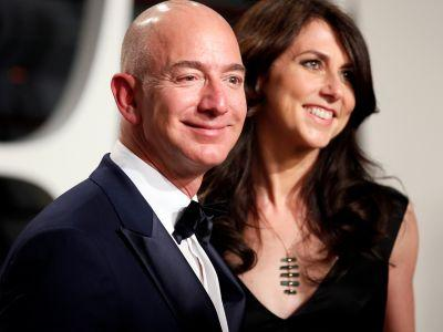 Jeff Bezos is very close to overtaking Bill Gates as the richest person in the world
