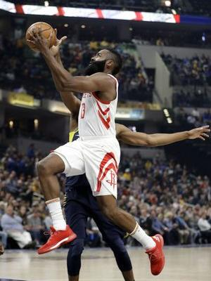 James Harden, Rockets beat Pacers 118-95