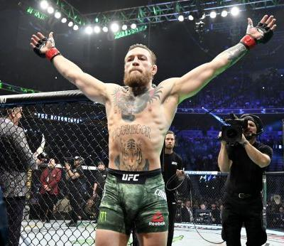 Conor McGregor just knocked out Donald Cerrone in 40 seconds, called his rivals fools, and said he's off to party