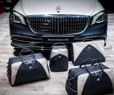 Mercedes-Maybach S650 Comes with Matching Luggage Set