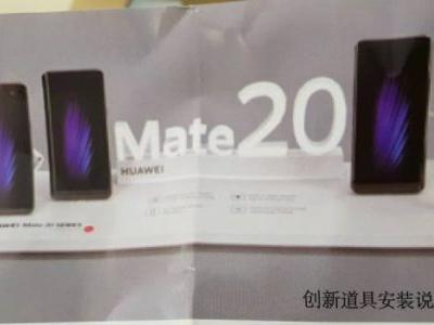 New pictures reveal Huawei Mate 20 version with a stylus