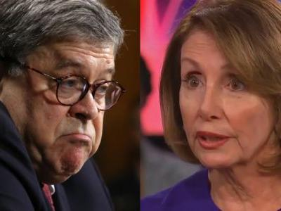 AG Barr Reportedly Has Surreal Exchange With Pelosi: 'Madam Speaker, Did You Bring Your Handcuffs?'