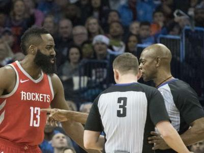 James Harden, of all people, needs to stop whining about foul calls