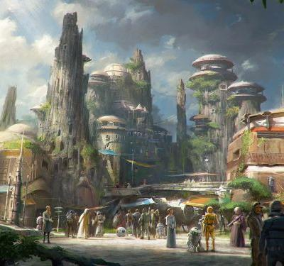 Disney gave a sneak peek at the new Star Wars: Galaxy Edge park, and it's going to be massive