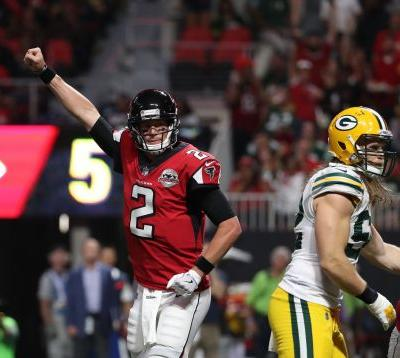 Falcons show they can still soar in convincing win over Packers