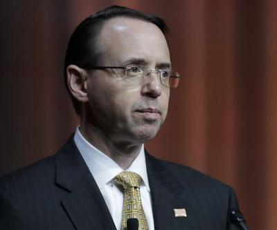 White House skirts questions about Rosenstein's fate, Mueller probe