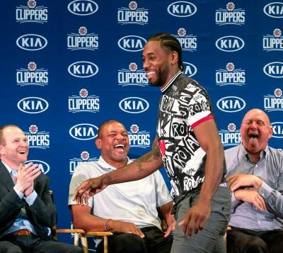 Kawhi Leonard, Paul George want to make history for Clippers