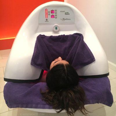 I Tried an Infrared Sauna Pod and It Changed My Mind About Trendy Treatments