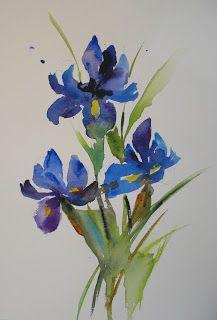Japanese Iris and Repeat, and Repeat