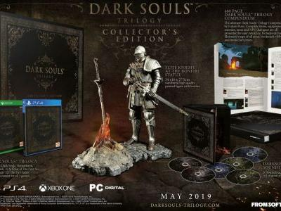 UK folks with £449.99 to spend can pre-order the Dark Souls Trilogy Collector's Edition