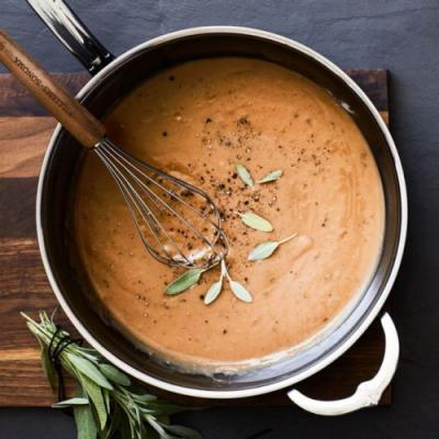 Caramelized Onion Make-Ahead Gravy