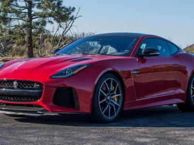 Here's What I Listened To Driving The 575-Horsepower Jaguar F-Type SVR