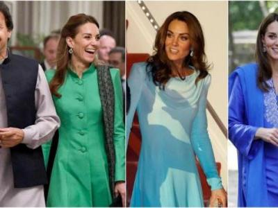 Kate Middleton in Pakistan Day 1 round-up: Desi look and dupatta worth Rs 800