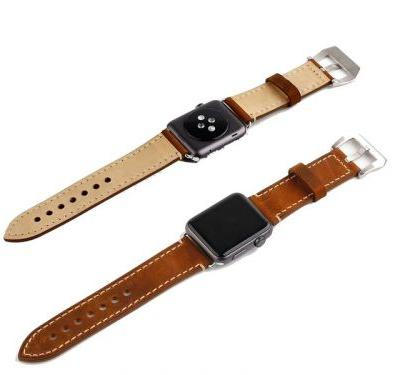 Add a leather band to your new Apple Watch for as little as $7