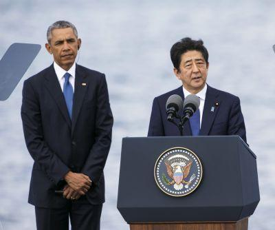 Obama, Japan's Abe decry 'horrors of war' at Pearl Harbor