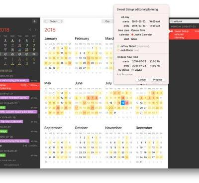 Fantastical 2.5 for Mac introduces Meetup support, time change proposals, design improvements, and more