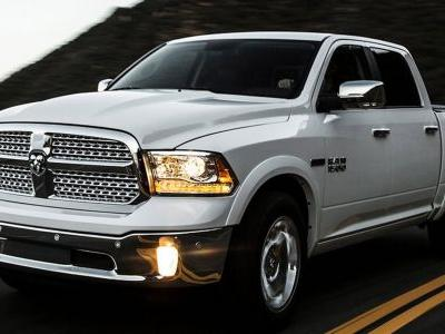 FCA's Recalling 1.8 Million Ram Trucks For Rollaway Risk