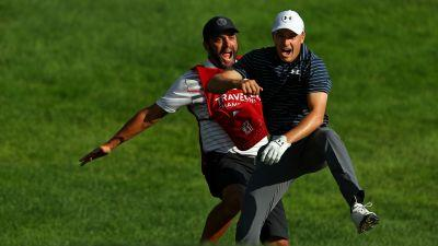Travelers Championship: Jordan Spieth had fun going 'nuts' after draining bunker shot