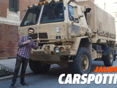 A Real New York City Car Is A Two-And-A-Half Ton Military Truck