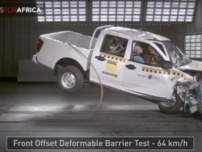 This Pick-Up Truck's 0-Star Crash Test Is Downright Horrifying To Watch