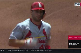 WATCH: Cardinals blast three homers in sweep-clinching win over Pirates