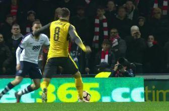 Aaron Ramsey equalizes for Arsenal vs. Preston North End | 2016-17 FA Cup Highlights