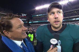 Case Keenum to Nick Foles: 'There's no one that deserves this more than you'