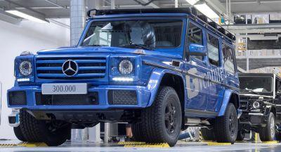 It's Taken Mercedes 38 Years To Sell 300,000 G-Wagens