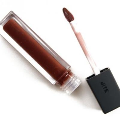 Bite Beauty French Press, Salted Caramel, Vanilla Latte French Press Lip Glosses Reviews & Swatches