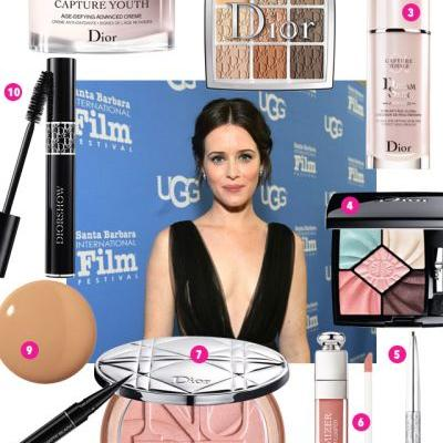 """We're Craving Claire Foy's """"Smudgy, Cool-Girl Eye"""""""