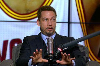 Chris Broussard responds to Kyrie Irving's call to LeBron apologizing and asking about leadership