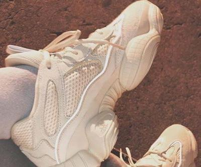 Kim Kardashian Shares a Better Look at the White YEEZY Mud Rat 500s