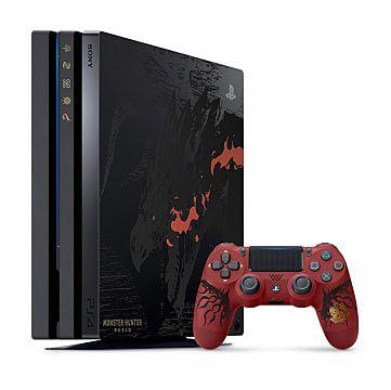 PlayStation 4 Pro and the Monster Hunter Exclusive