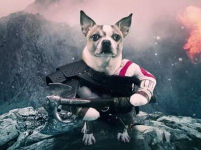PlayStation Commercial Spoofs God Of War By Replacing Characters With Dogs