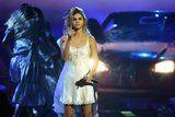 Selena Gomez Wore A Sultry Nightgown on Stage With Sneakers, and We Loved It