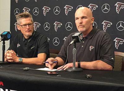 Have a seat, coach: Quinn set for training camp with Falcons