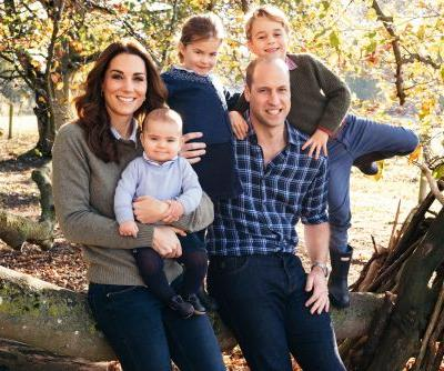 Prince William's and Harry's royal family Christmas cards are very different