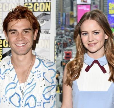 These Tweets About KJ Apa & Britt Robertson Reportedly Kissing Show Fans Are So Confused