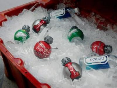 First Look: Aurebesh Coke Coming To 'Star Wars: Galaxy's Edge', Served In Reclaimed Thermal Detonator Packaging