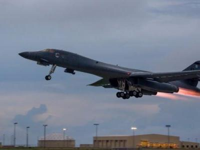 US B-1B bombers set to fly over the Korean peninsula in joint aerial drill