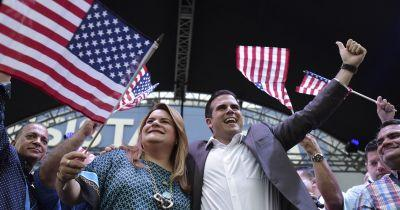 Puerto Rico gov upholds statehood in vote hit by boycott