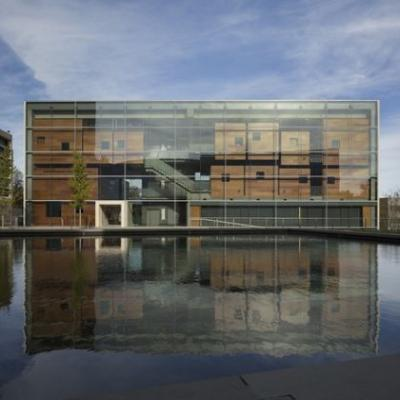 Lewis Arts complex / Steven Holl Architects