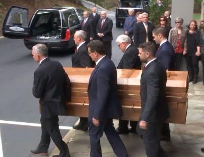 Billy Graham's body making 130-mile journey from mountains to Charlotte