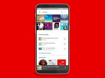 Google's new podcast 'app' is already on your Android phone