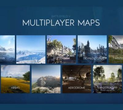 Eight Battlefield 5 multiplayer maps detailed for launch