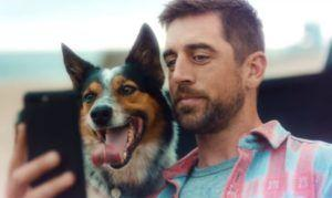 Aaron Rodgers' Canine Co-Star Steals Spotlight in New State Farm Commercial
